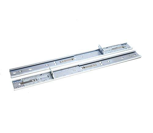(FOR DELL 5PX47 Genuine OEM Dell EMC Server Add-On Extension Rail C1VJH Pair Adjustable Length 17.8x1.65 Inch 1U Post Rack Rails)
