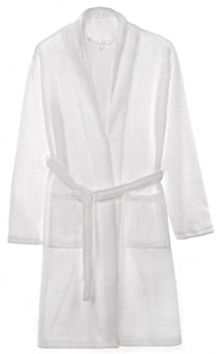 Tooboo Womens Microfiber Fleece Bathrobe
