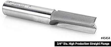 45455 CNC Carbide Tipped Straight Plunge High Production 3//4 Dia x 2 x 3 Amana Tool