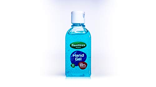 Hand Sanitiser Gel, Alcohol Hand Sanitizer 50ml, Travel Pocket Size – Sanitirex. Made in UK