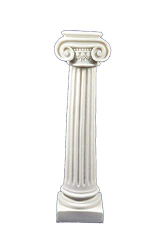 Doric Columns - Estia Creations 11 inches Ancient Greek Ionic Order Column Artifact
