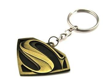 TGH (SPMN Llavero Superman Ocre Dorado Marvel: Amazon.es ...