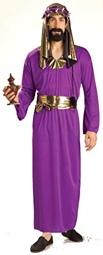 Forum Novelties Men's Biblical Times Wise Man Costume, Purple, One -