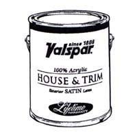 (Valspar 4108 Pastel Base Medallion Exterior Latex House Paint, 1 quart, Satin)