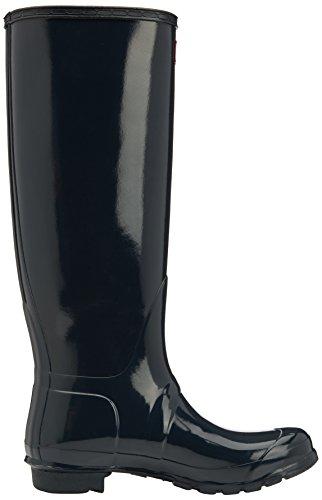 Hunters Original Tall Gloss - Botas de agua, color: Azul Azul marino