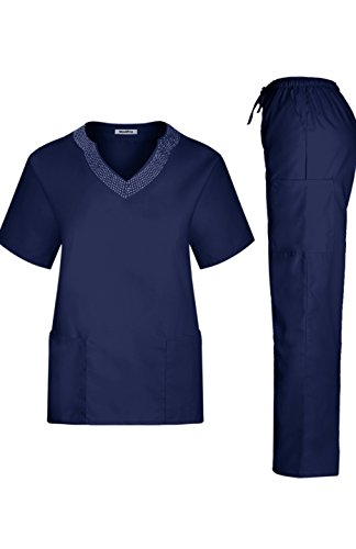 MedPro Womens Medical Scrub Rhinestone product image