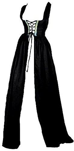 Renaissance Irish Over Dress (L/XL, Black)
