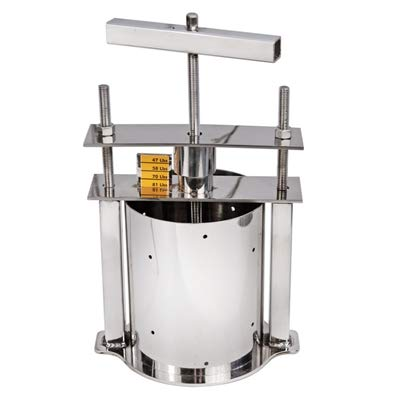 Stainless Steel Cheese Press with -