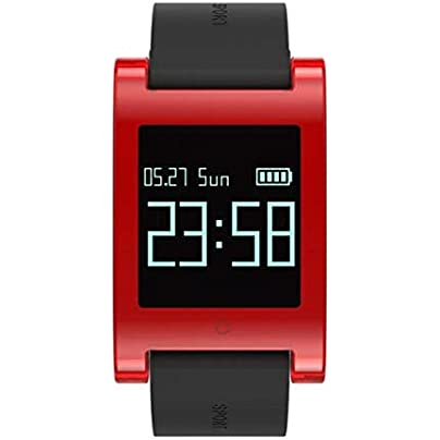DMMDHR Bluetooth Touch 0 95 Inch Smart Watch Monitor Blood Pressure Health Fitness Tracker Heart Rate Sport Smart Wristband Estimated Price £79.00 -
