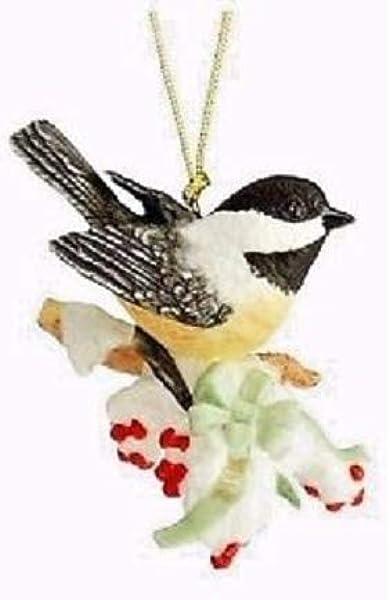 Lenox Chickadee Garden Bird 2015 Ornament NEW IN BOX