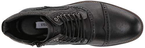 Pictures of Steve Madden Men's Trentin Ankle Boot TREN01M1 Black Leather 2