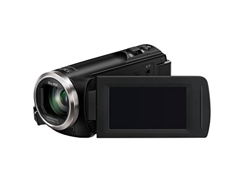 Panasonic HC-V180K Full HD Camcorder with 50x Stabilized Optical Zoom (Black)