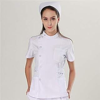 OPPP Abbigliamento medico Unisex per Un Medico di Cura, Un Set di Indumenti per Infermiere, Un Uniforme da Infermiera, Un Camice da Laboratorio, Un Completo di Giacca e Pantaloni