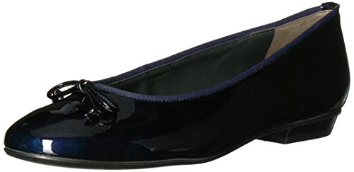 clearance 100% authentic free shipping with mastercard Paul Green Women's Emile Ballet Flat Blue Steel Patent order 8dhOuOr
