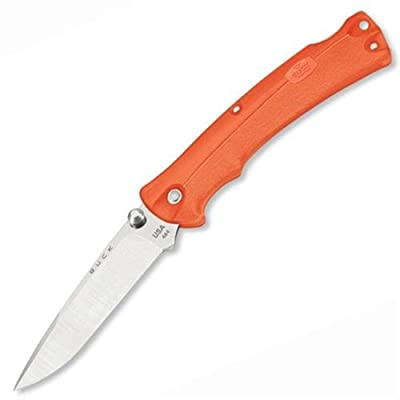 Buck Knives 484 BuckLite MAX Folding Knife with Orange Handle