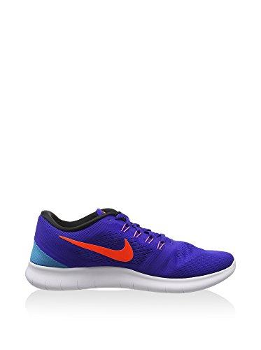 Nike Heren Gratis Rn, Eendracht / Totaal Karmozijn-zwart-blauwe Lagune, 7 M Ons