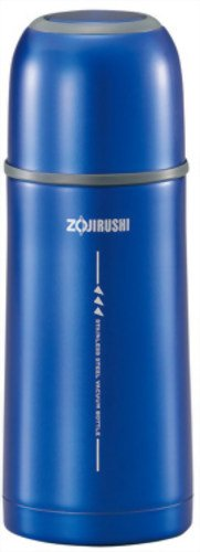 Zojirushi SVGG35AH Tuff Slim Stainless Vacuum Bottle, 12-Ounce, Metallic Blue by Zojirushi