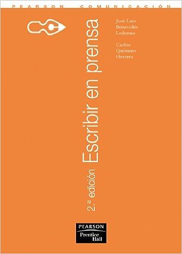 Book Escribir en Prensa, 2a Edicion (Spanish Edition)
