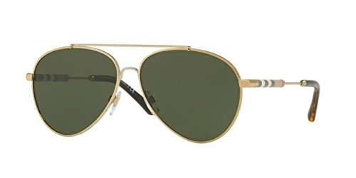 Burberry Women's 0BE3092Q Light Gold/Green - Glasses Burberry Women