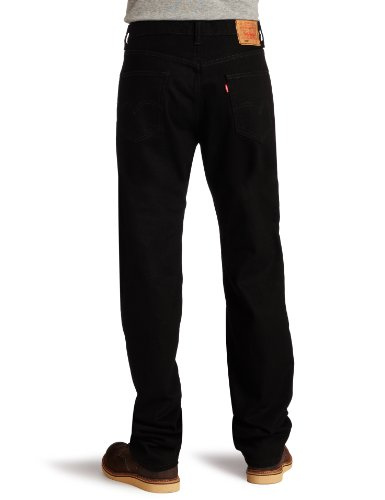Levi's Men's 550 Relaxed Fit Jean, Black, 38x32