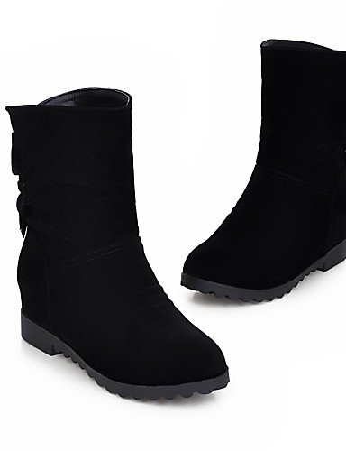 Semicuero Casual Cn39 Comfort Uk3 Oficina negro Moda Y Marrón Cn Black Zapatos Mujer A Trabajo Exterior Botas us5 De La Plataforma Eu39 Xzz Eu35 Gray Cn34 us8 Uk6 w6xOIq