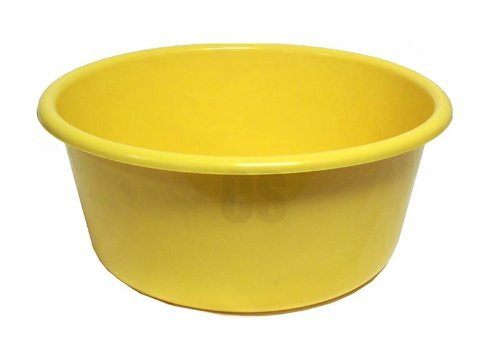 Lucys Bowl (LUCY PLASTIC YELLOW LARGE ROUND KITCHEN WASHING UP BOWL by Lucy)