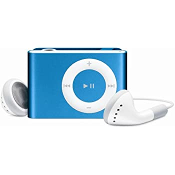 Apple iPod shuffle 1 GB Bright Blue (2nd Generation)  (Discontinued by Manufacturer)