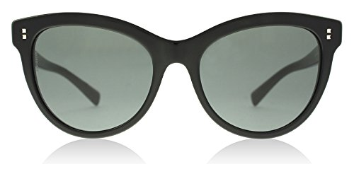 Valentino Women's VA 4013 Black/Grey - Acetate Valentino Sunglasses