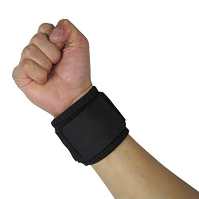 SZhsks Wrist Support Brace Carpal Tunnel Splint Unisex Sport Adjustable Wristband Wrist Brace Support Bandage Gym Strap Estimated Price £21.00 -