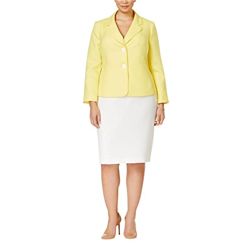 Le-Suit-Womens-Plus-Size-Two-Button-Unmatched-Skrt-Suit