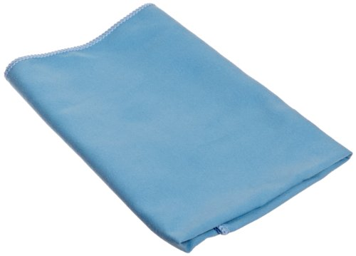 Impact LFK100 Microfiber Suede Glass Cloth, 16'' Length x 16'' Width, Blue (18 Bags of 12) by Impact Products