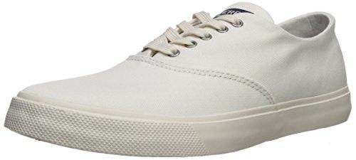 Sperry Women's Captains CVO Sneaker, White, 8 Medium US