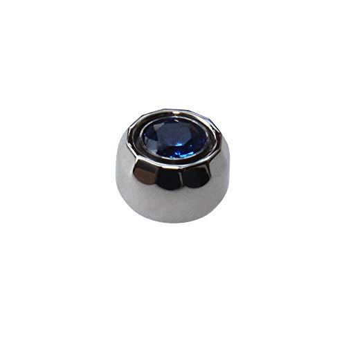 Chopard Happy Diamonds Watches - Blue Sapphire Crystal Crown for Chopard Happy Diamonds 36mm Watch