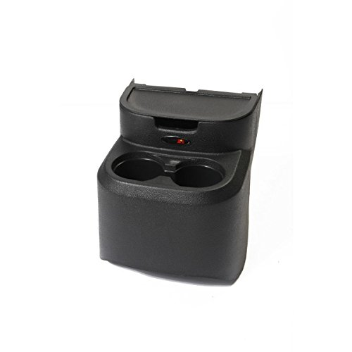 Rugged Ridge 13551.51 Black Rear Seat Organizer (Rear Seat Cup Holder compare prices)