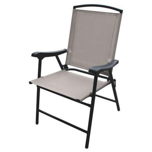 Four Seasons Westfield Outdoor 204553 S13-S998T FS Flood Sling Chair, Tan
