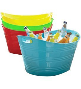 CreativeWare PTUB-PB Powder Blue, 8.5 Gallon Party Tub, by CreativeWare
