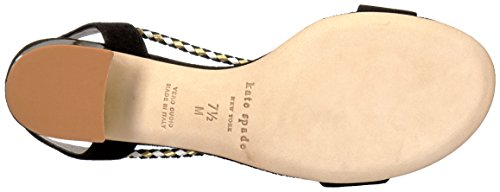 Sandal Heeled Spade Manor York New Black Women Kate AvqF8wq