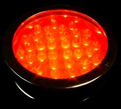 WDM Lighting LED Colorwater 36 Red Submersible - -