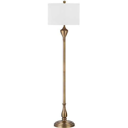Park Avenue Lamp Base (Safavieh Lighting Collection Xenia Gold 60.5-inch Floor Lamp)
