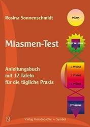 Miasmen-Test: Anleitungsbuch mit 12 Tafeln für die tägliche Praxis