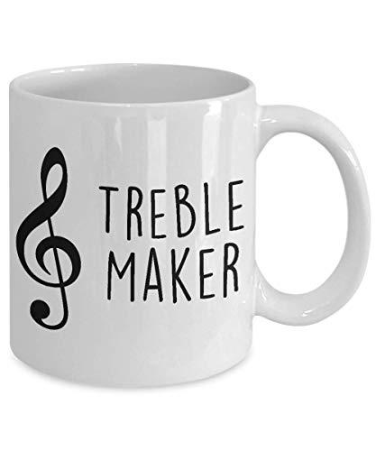 Treble Maker Coffee Cup Mug   Treble Clef Music Mug   Jazz Band Coffee Cup Mug   Marching Coffee Cup Mug   Band Director Coffee Cup Mug (15 oz) for $<!--$18.95-->
