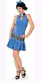 Betty Rubble Adult Halloween Costume Size 4-8 Small
