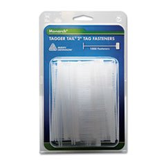 Tagger Tail Fasteners, Polypropylene, 2'' Long, 1000/Pack