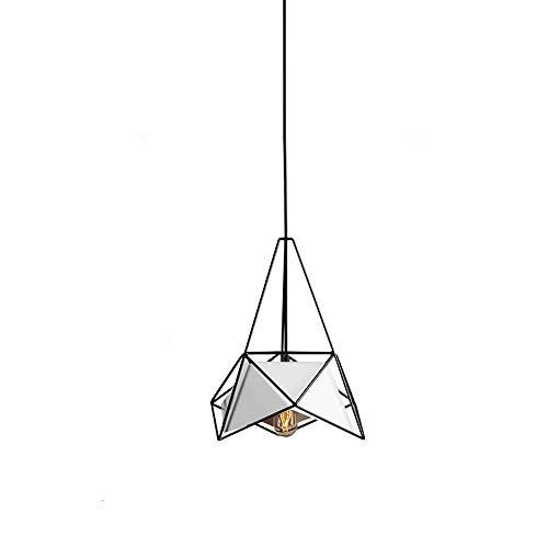 Mengzhu-Michelle Modern Pendant Light Dining Table lamp Creative Design Hanging lamp E27 Iron Hanging lamp Minimalist Interior Lighting Dining Room Pendant lamp Living Room Bedroom Study - Pendant Led Geo
