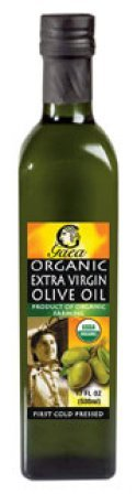 Gaea Organic Extra Virgin Olive Oil, 17 Ounce - 6 per case.
