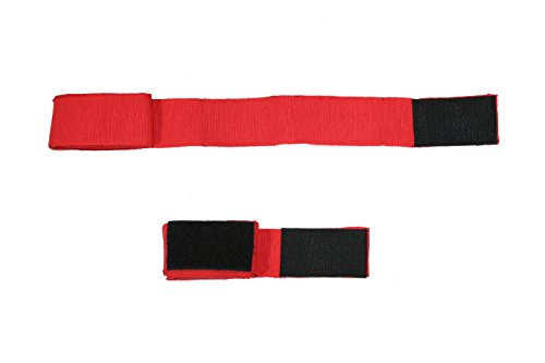 CLAXON Star Boxing Hand Wrap (Pair), Red, 120