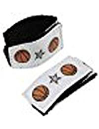 Sleeve Scrunchie (white, Basketball)