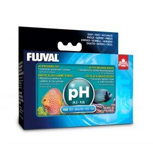Hagen Fluval pH Wide Range Test Kit for Fresh & Saltwater (Includes 100 Tests)