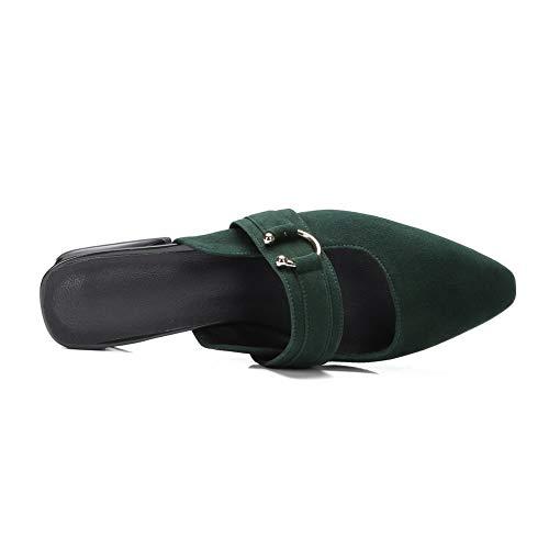 BalaMasa ASL05663 Femme Sandales Green Compensées Z6zHxqZ