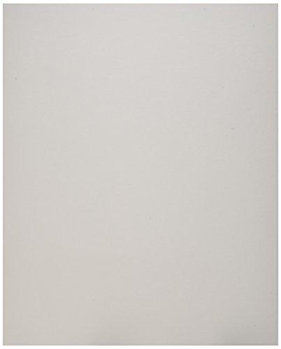 (100 8x10 UNCUT mat matboard White Color)